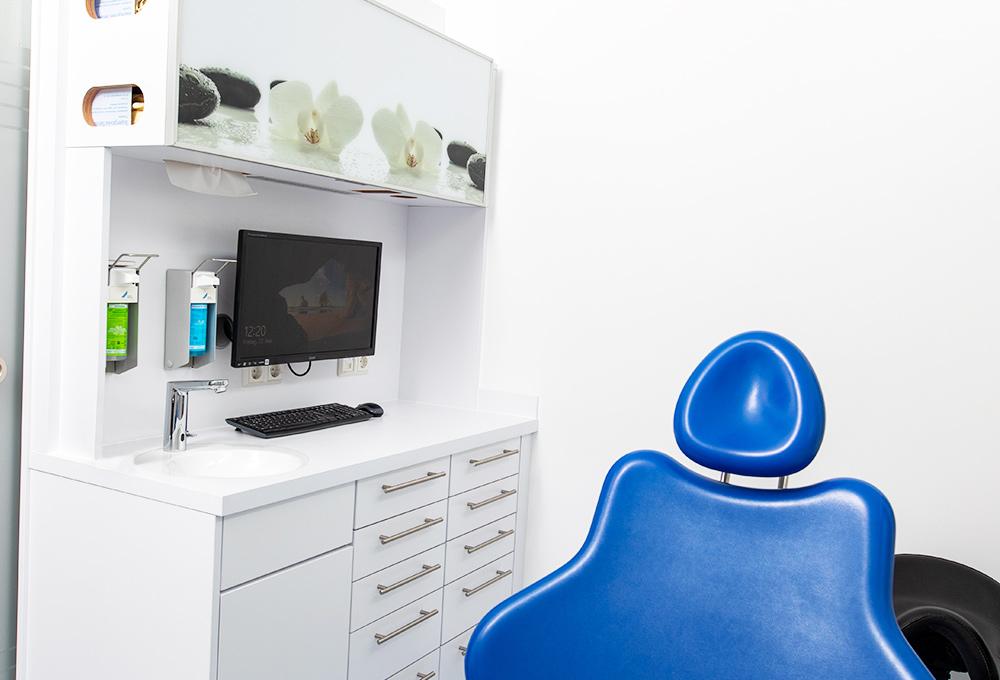 Behandlungsstuhl bei Ihrem Zahnarzt in Eberbach.